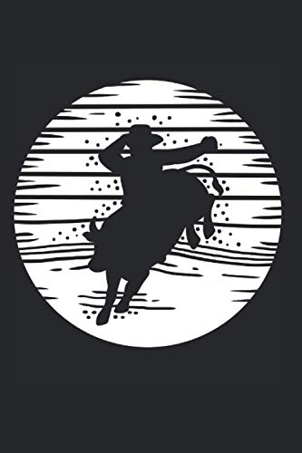 """Bull Riding Rodeo Cowboy Bullriders - Notebook and Journal: Dot Grid 120 Pages 6x9\"""""""