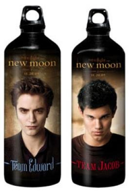 Twilight New Moon Team Jacob Aluminium Flasche 1000 ml für Adventskalender BREAKING DAWN