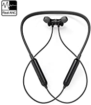 Active Noise Cancelling Headphones, AKAMATE Wireless Neckband Headset Bluetooth V4.2 in-Ear Waterproof Earbuds Magnetic Hi-Fi Stereo Sports Earphones Mic, Carrying Bag