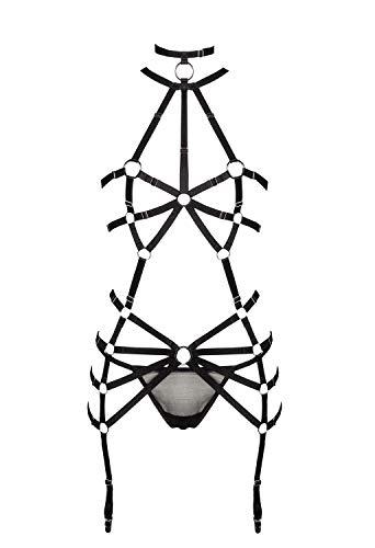 Grey Velvet Damen Harness-Set XS/S