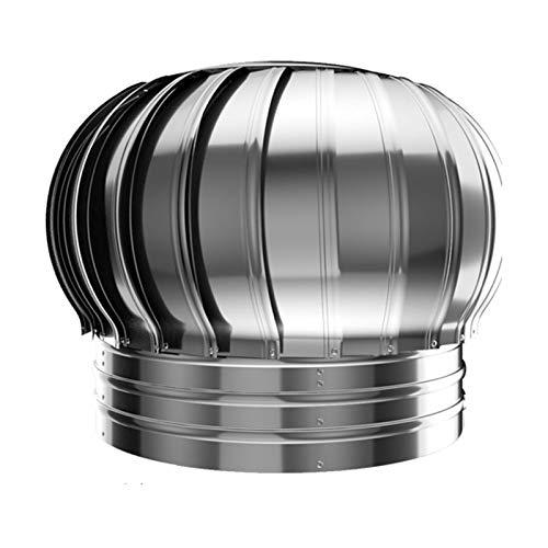 JSONA Girador Giratorio de Acero Inoxidable para Tapa de Chimenea, antivaho, para ollas de Chimenea estándar, Tapa de Chimenea, 150 mm