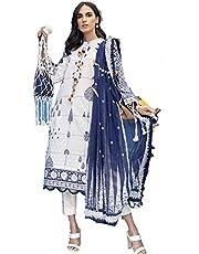 Pakistani dress unstitched three piece dress material by Gul Ahmed