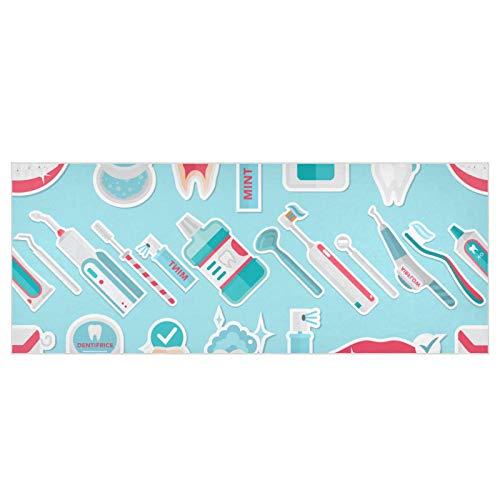 Lindo Cepillo de Dientes eléctrico automático para Mujer, Bufandas de 70,9x27,6 Pulgadas,...
