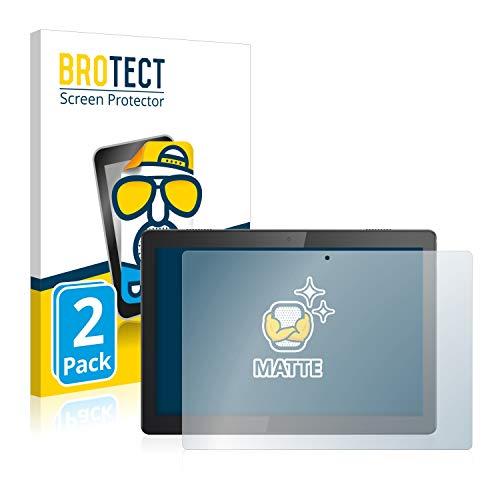 BROTECT 2X Entspiegelungs-Schutzfolie kompatibel mit Lenovo Tab M10 Bildschirmschutz-Folie Matt, Anti-Reflex, Anti-Fingerprint