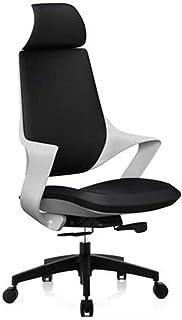 Sillas giratorias para escritorio silla de escritorio, silla de escritorio con apoyabrazos, soporte lumbar Mid-Back Home Office silla de malla giratoria