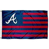 WinCraft Atlanta Stars and Stripes Americana Flag 3x5 Banner