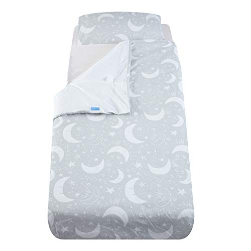 The Gro Company Many Moons Gro to Bed Toddler Bedding Set, Single Bed