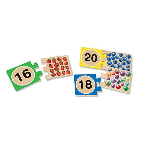 『Melissa & Doug Self-Correcting Alphabet Wooden Puzzles With Storage Box (52 pcs)』の2枚目の画像