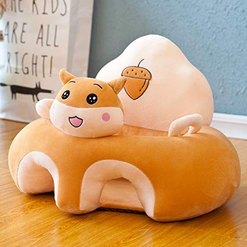 Sale!! Veecome 40x55x35CM Baby Plush Sofa Chair Early Education Couch Baby Learning Seat Correct Inf...