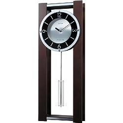 Rhythm Clocks Espresso II Wooden Musical Mantel Clock