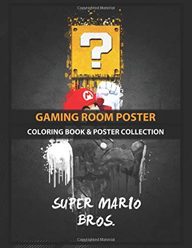 Coloring Book & Poster Collection: Gaming Room Poster Super Mario Bros Gaming