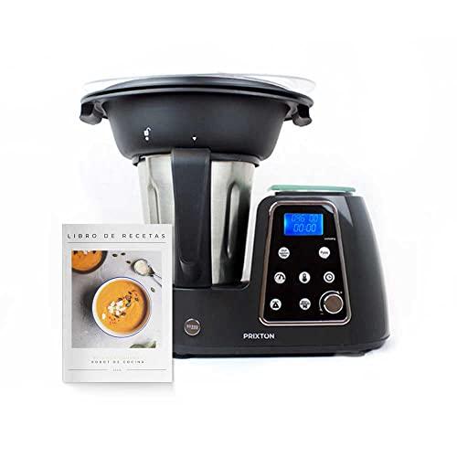 PRIXTON Kitchen Gourmet KG200 - Robot de Cocina Multifunción Programa