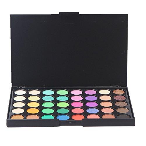 Paleta de Sombras de Ojos Mate, Ruwhere 40 Colores