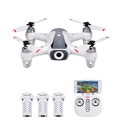 GoolRC Syma W1 PRO Drone RC Drone con Fotocamera 4K Camera GPS Drone Motore...