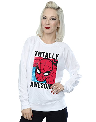 Marvel Mujer Spider-Man Totally Awesome Camisa De Entrenamiento