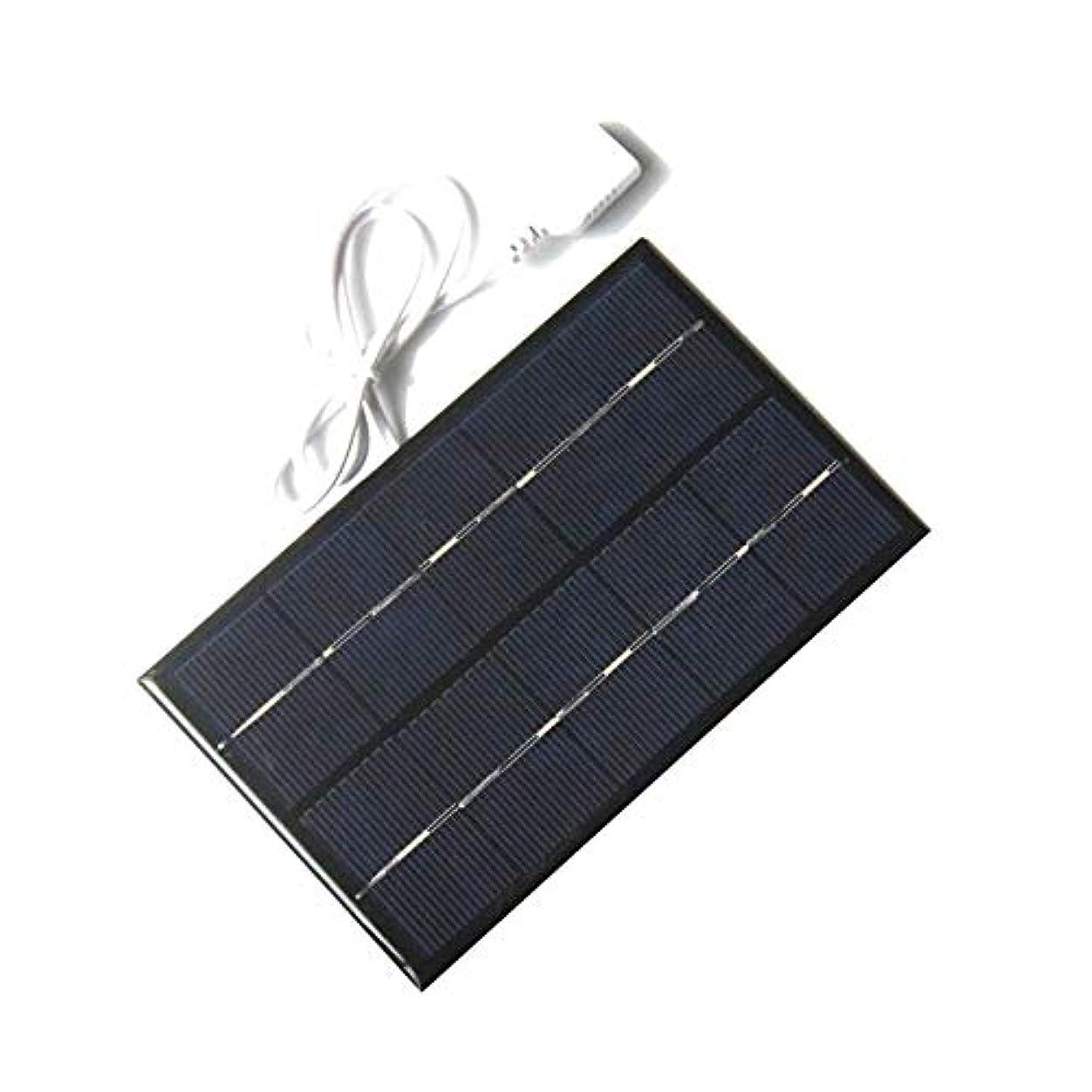 無礼にここに適応的ソーラーパネル USBソーラーパネルアウトドア5W 5Vのポータブルソーラー充電パネルの急速充電器ポリシリコンタブレット太陽トラベル YXJJP
