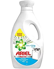 Ariel Matic Liquid Detergent Top Load 2 Ltr + 500 ML Free