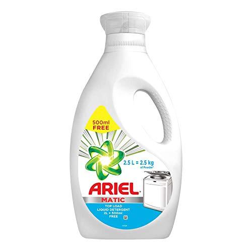 Ariel Matic Liquid Detergent Top Load 2 Ltr + 500 ML Free