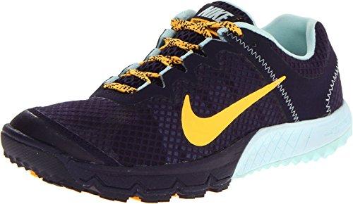 Nike Women's Zoom Wildhorse Purple Dynasty/teal Tint/Laser Orange 11.5 B - Medium