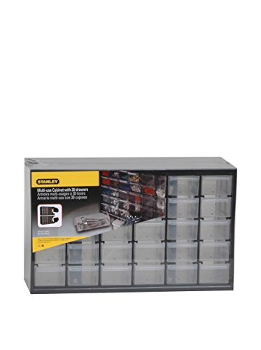 STANLEY 1-93-980 RANGEMENT Organiseurs CASIER - 5 étages - 30 compartiments