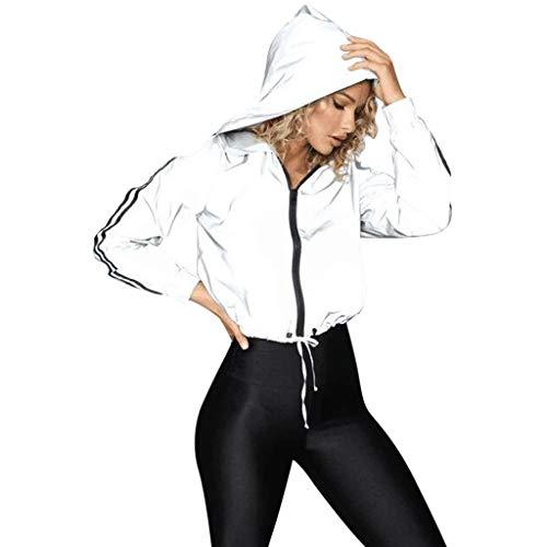 Weant Pullover Damen Long Sleeve Hoodies, Damen Cord Patchwork Oversize Zipper Jacke Windbreaker Crop Mantel Lässige Mantel für Party, Beach Damen Mädchen Sweatshirt
