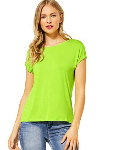 Street One 315101 T-Shirt, Laser Citron Vert, 46 Femme