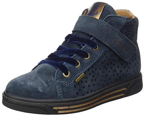 PRIMIGI Girls PUAGT 63778 Sneaker, Navy/Bronzo,33 EU