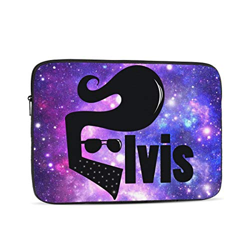 E-l-vi-s Waterproof Computer Bag Laptop Case Laptop Tablet Tote Travel Briefcase 13 inch
