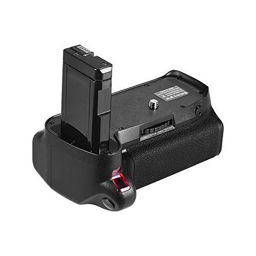 Godyluck- Soporte Vertical de empuñadura de batería Compatible con cámara réflex Digital Nikon D5300 D3300 D3200 D3100 EN-EL 14 Alimentado por batería con Control Remoto IR