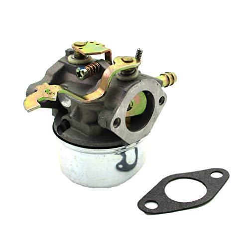 XLYZE Choke Lever Carburetor for Yerf Dog Go Kart 5HP 5.5HP 6HP 6.5HP Tecumseh Engine Replaces 640305 640340 640346 640306A 640222A 640060A