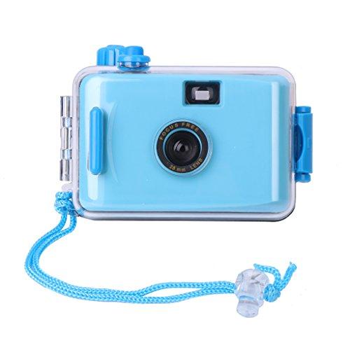 Runrain Mini cámara lomo impermeable bajo el agua 35 mm película con carcasa nuevo