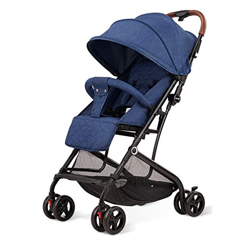 Best Review Of XYSQ Baby Stroller Pram Carriage Stroller - Pushchair Stroller Compact Convertible Lu...