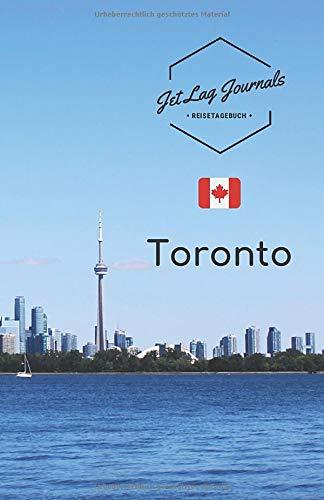 JetLagJournals • Reisetagebuch Toronto: Erinnerungsbuch zum Ausfüllen | Reisetagebuch zum Selberschreiben für den Kanada Urlaub
