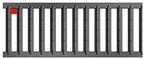 ACO Self® Stegrost Stahl verzinkt anthrazit pulverbeschichtet 50 cm (Länge)