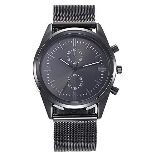 Reloj casual de moda Reloj masculino simple reloj de cuarzo casual aleación material regalo decoración vida impermeable