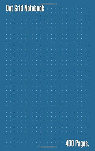 Dot Grid Notebook: Dotted Bullet Grid Journal with 400 Pages , 5 x 8 in.
