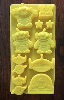 E453 Baby Easter Bunny Pretzel Chocolate Candy Soap Mold