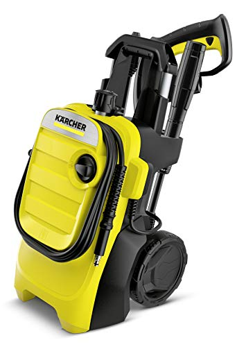 Kärcher K 4 Compact Pressure Washer, Yellow/Black, Medium
