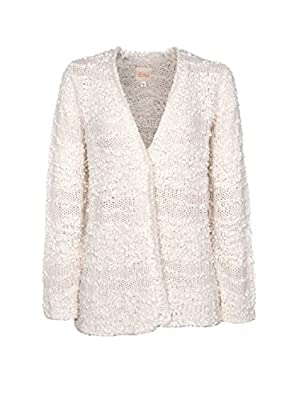 Billabong Junior's All Fur You Cozy Cardigan Sweater, White Cap, M from Billabong Juniors