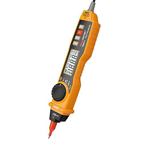 Protmex MS8211 Multímetro Tipo de pluma LCD Digital Multímetro DC/AC voltaje Corriente Resistencia Ensayador Amperímetro Multitester Con NCV