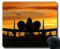 ゲームマウスパッド、Sky Clouds Air Aircraft Non-Slipゴムベースマウスパッド