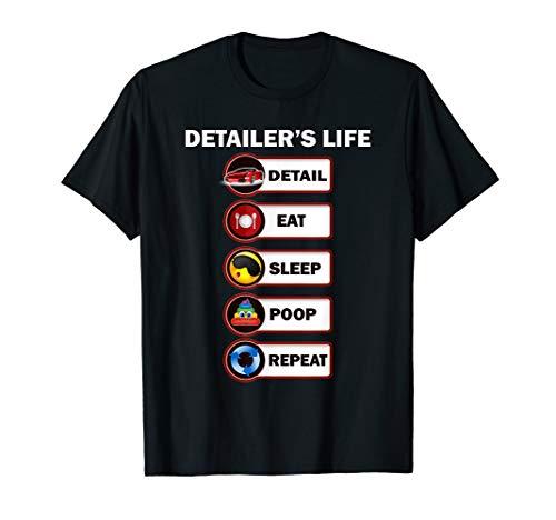 AUTO DETAILER, Car Detailing, funny humor joke T-Shirt