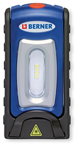 Berner Pocket deLux Bright LED Lampe Werkstattlampe inklusive microUSB - Ladegerät