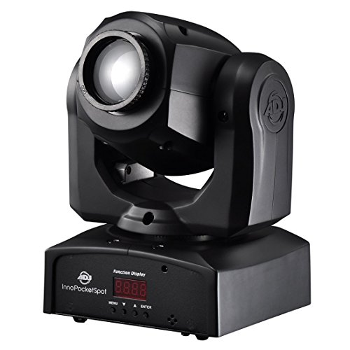 Amercian DJ 1237000088 Inno Pocket Spot Mini-Moving Head mit LED Leuchtquelle (12 Watt)