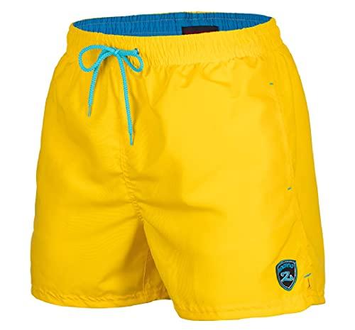 pantaloncini uomo gialli Zagano Adam Lipski - Costume da bagno a pantaloncino