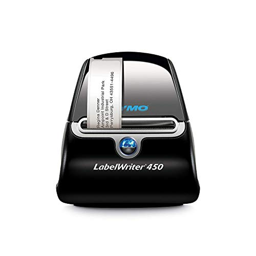 DYMO V150275 LabelWriter 450 Thermal Label Printer, Prints 51 LW Labels per Minute