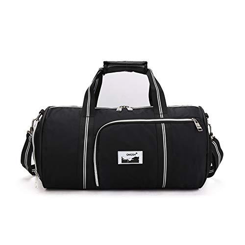 Bolsa de viaje para mujer, de corta distancia, elegante, minimalista, para deportes, entrenamiento, bolsa de lona de gran capacidad