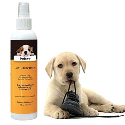 Petsvv No Chew Spray Deterrent for Dogs