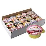 Indalitos - Paté (Crema de jamon curado, Bandeja 30 Monodosis 25gr)