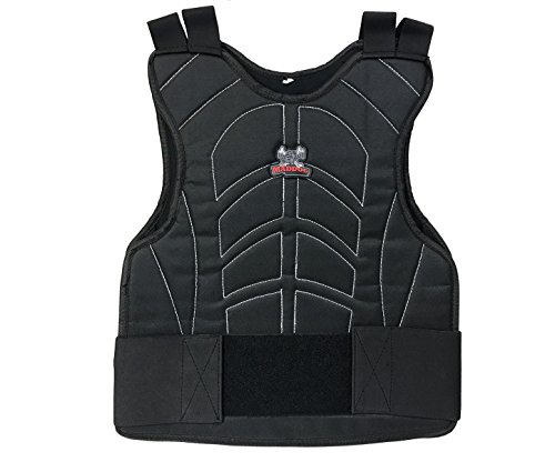 Maddog Padded Chest Protector - Black